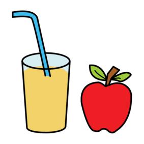 Piktogramm Apfelprojekt