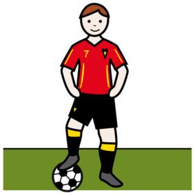 Piktogramm Fußball