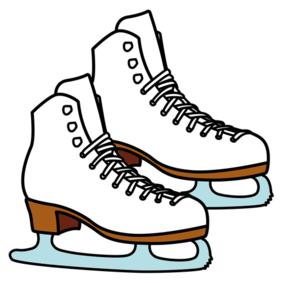Piktogramm Schlittschuhlaufen